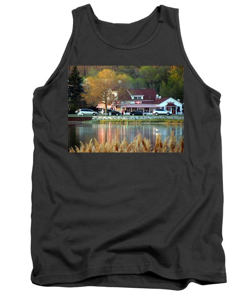 Wilson's Ice Cream Parlor Tank Top by David T Wilkinson