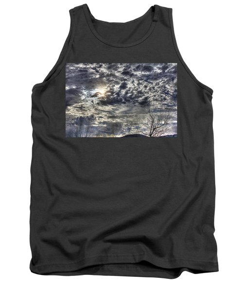 Winter Sky Tank Top by Tom Culver