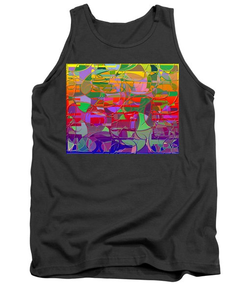 1021 Abstract Thought Tank Top