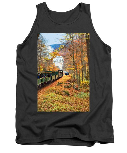 Cass Scenic Railroad Tank Top by Mary Almond