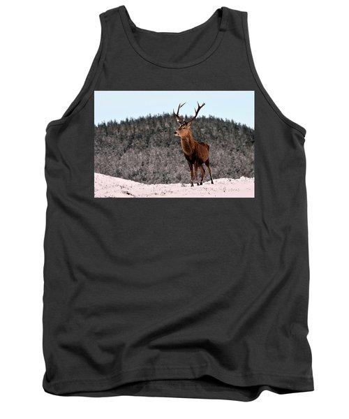 Red Deer Stag Tank Top