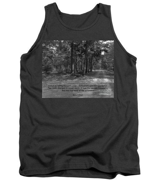 12a- Robert Frost  Tank Top