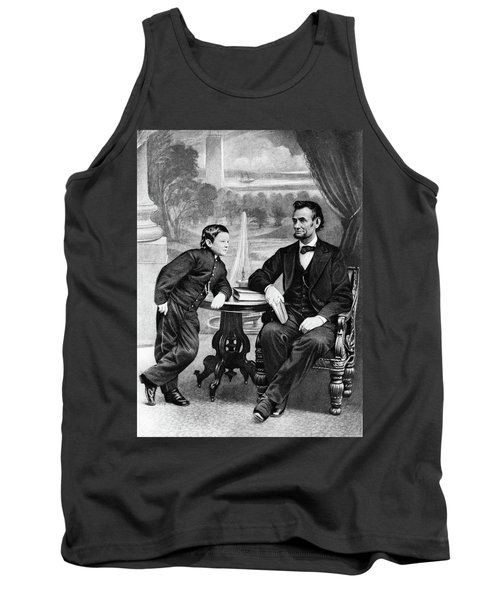 1800s 1860s President Abraham Lincoln Tank Top