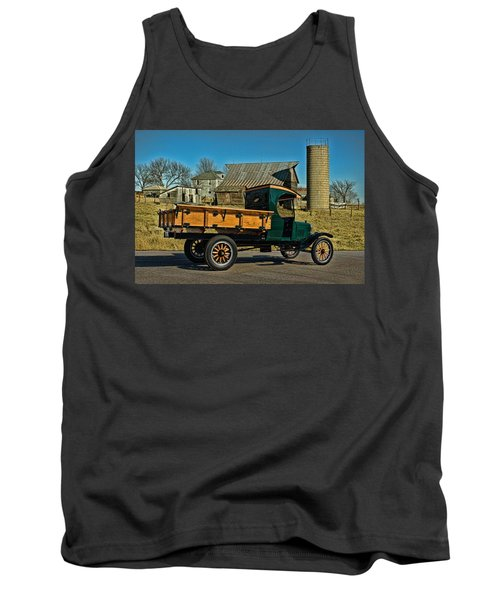 1923 Ford Model Tt One Ton Truck Tank Top