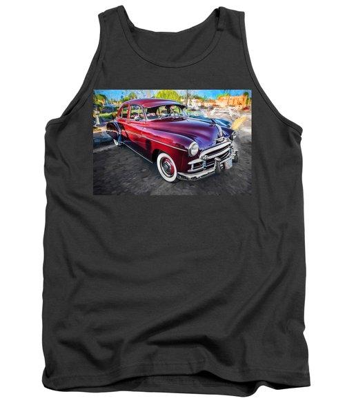 1950 Chevrolet Sedan Deluxe Painted  Tank Top