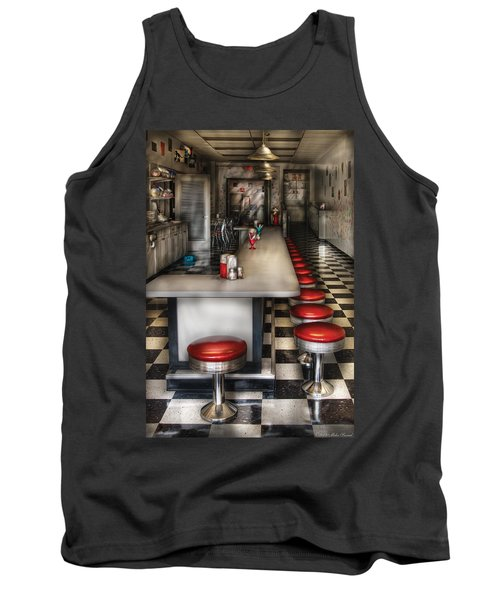1950's - The Ice Cream Parlor  Tank Top