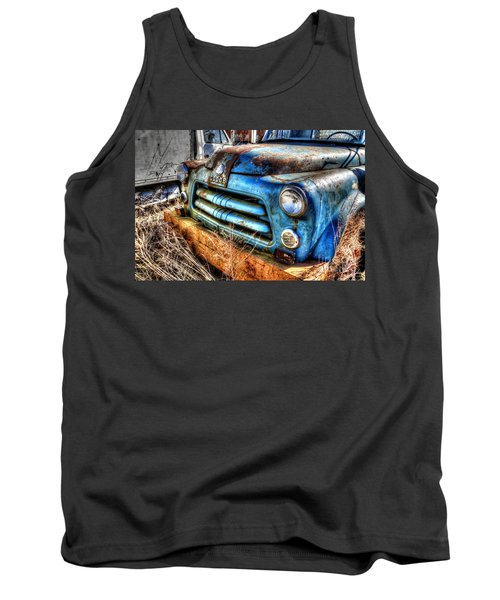 Tank Top featuring the photograph 1954 Dodge Pickup by Paul Mashburn