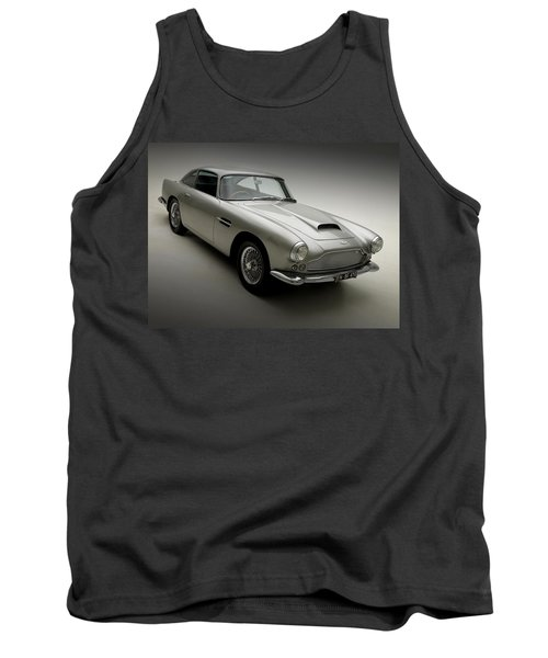 Tank Top featuring the photograph 1958 Aston Martin Db4 by Gianfranco Weiss