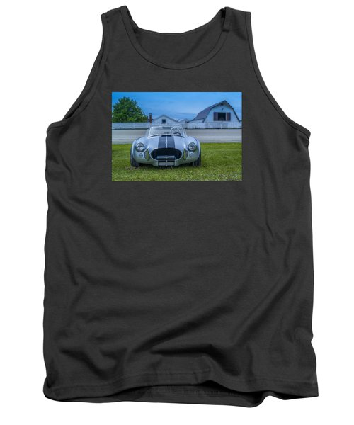 1965 Ford Shelby Cobra American Roadster Tank Top by Ken Morris