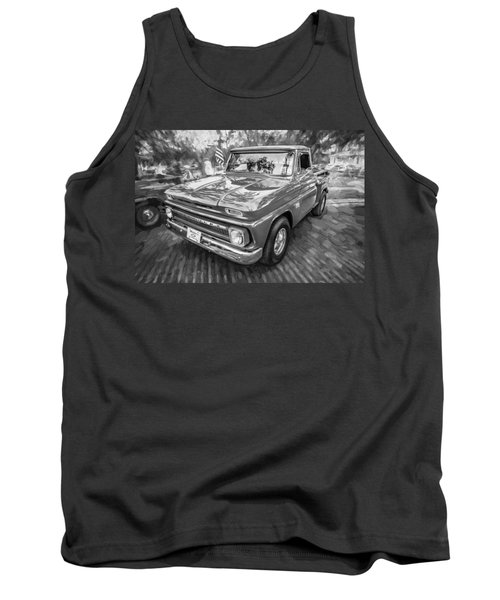 1966 Chevy C10 Pick Up Truck Painted Bw Tank Top