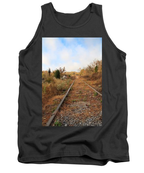 Abandoned Tracks Tank Top by Melinda Fawver