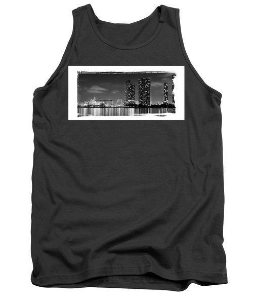 Tank Top featuring the photograph American Airlines Arena And Condominiums by Carsten Reisinger