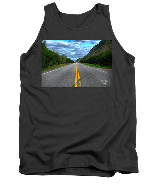 Tank Top featuring the photograph Cabot Trail by Joe  Ng