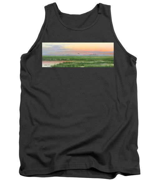 Tank Top featuring the painting Divine Whisper by Mike Brown