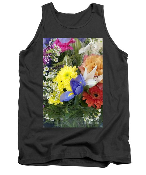 Floral Bouquet 4 Tank Top