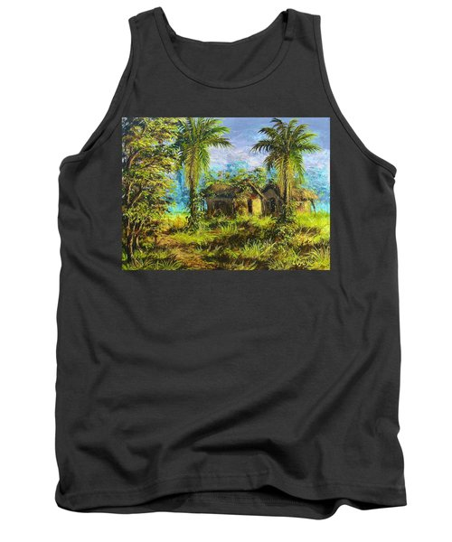 Forest House Tank Top
