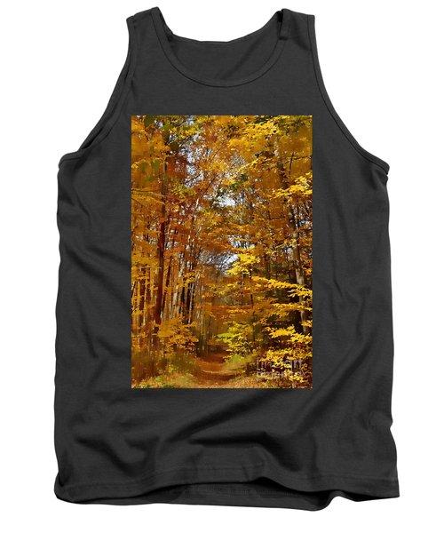 Golden Autumn Tank Top