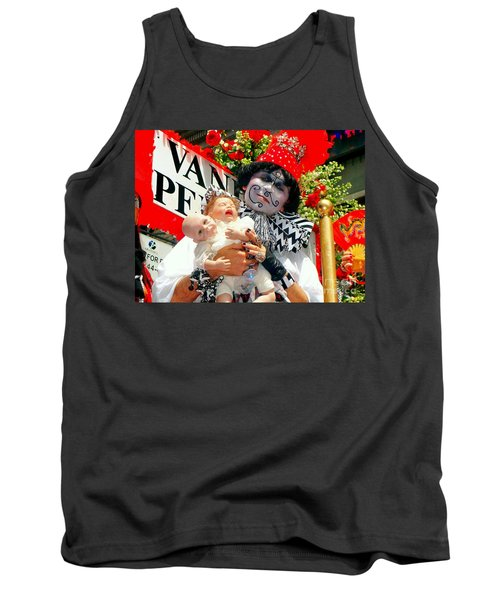 Tank Top featuring the photograph 2 Heads Are Better Than One by Ed Weidman