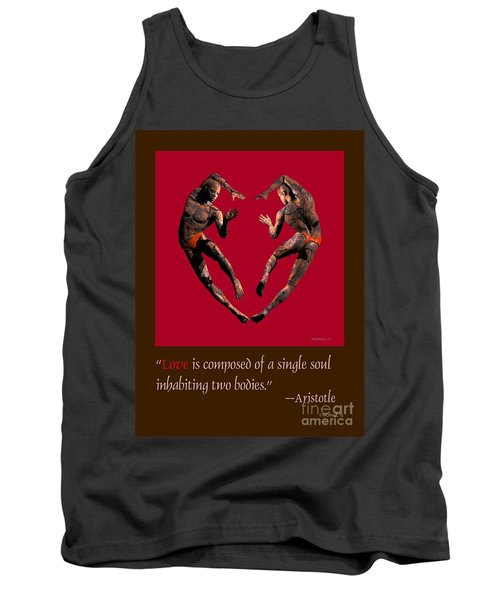 2 Hearts Dancers Poster Tank Top