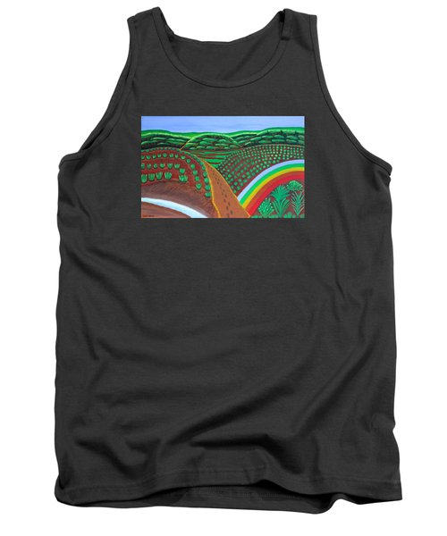 Hidden Forest Tank Top by Lorna Maza