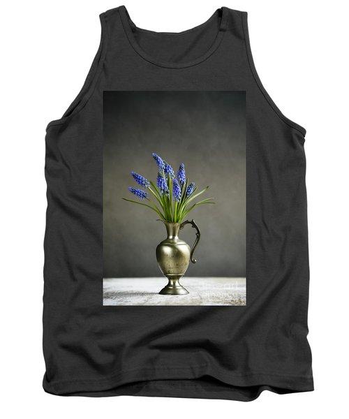 Hyacinth Still Life Tank Top