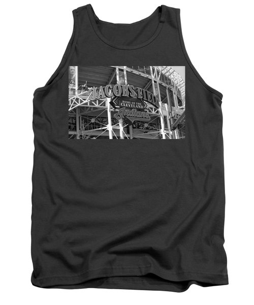 Jacobs Field - Cleveland Indians Tank Top by Frank Romeo