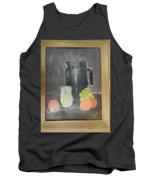 Tank Top featuring the painting #2 by Mary Ellen Anderson
