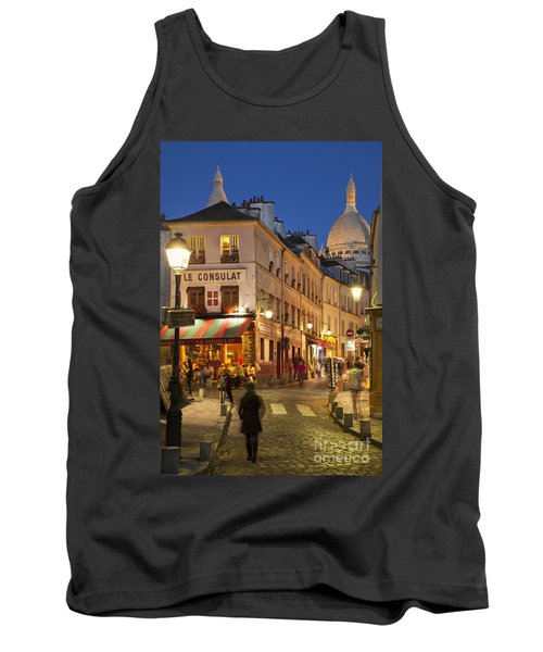 Montmartre Twilight Tank Top by Brian Jannsen