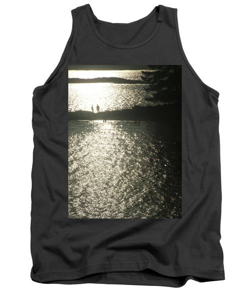 2 At The Beach Tank Top by Mark Alan Perry