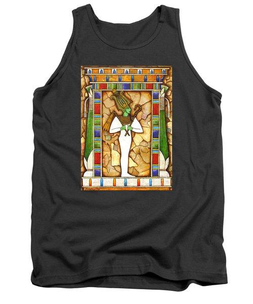 Tank Top featuring the painting Osiris by Joseph Sonday