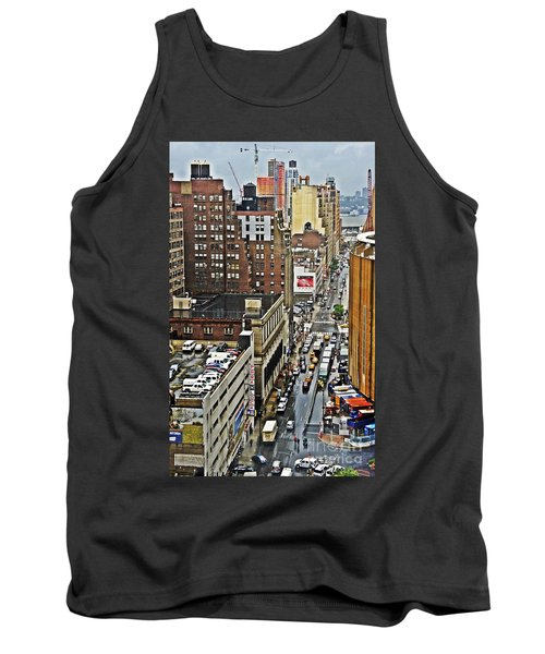 Tank Top featuring the photograph Park N Lock by Lilliana Mendez