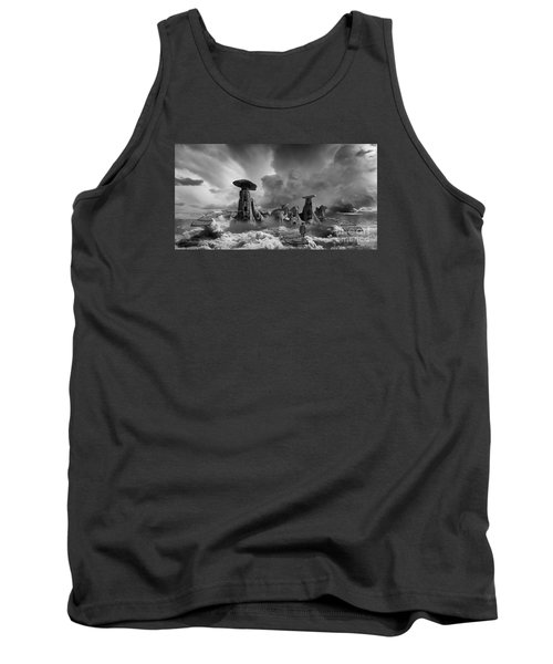 Tank Top featuring the photograph Sky City Casino by Keith Kapple