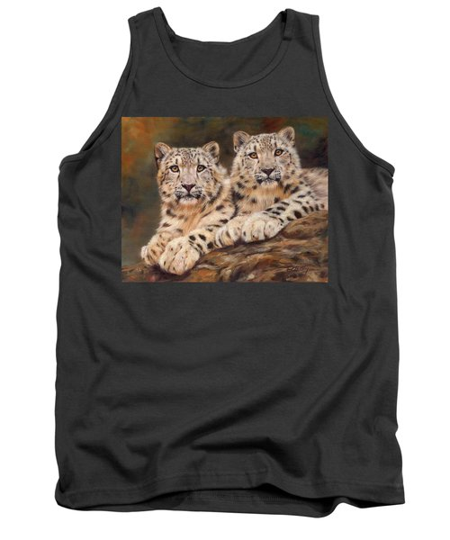 Snow Leopards Tank Top