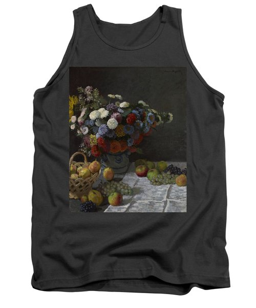 Still Life With Flowers And Fruit Tank Top