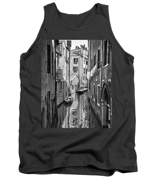 Venetian Alleyway Tank Top by William Beuther