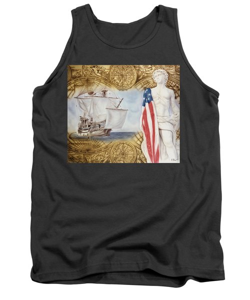Visions Of Discovery Tank Top by Rich Milo