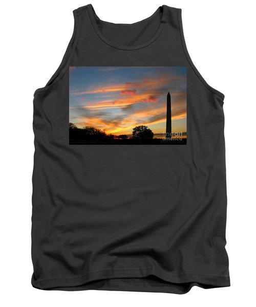 Evening Washington Monument Tank Top