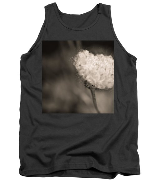 Tank Top featuring the photograph White Whisper by Sara Frank