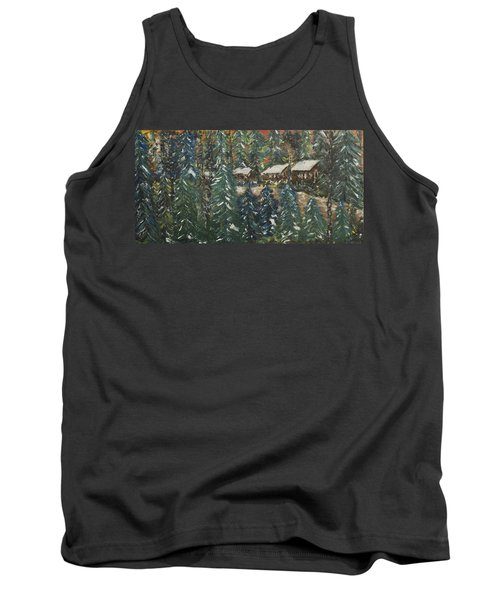 Winter Has Come To Door County. Tank Top by Andrew J Andropolis