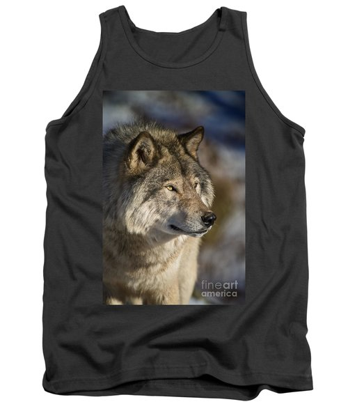 Timber Wolf Pictures Tank Top