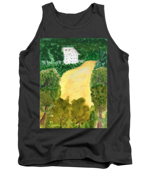 21 Room House On Golden Lake Dream Tank Top