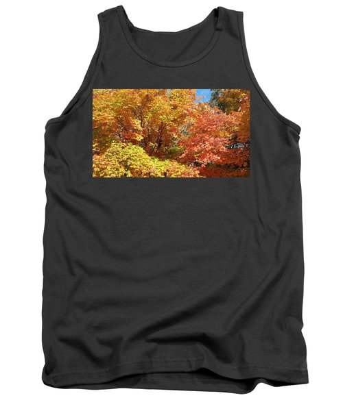 Fall Explosion Of Color Tank Top
