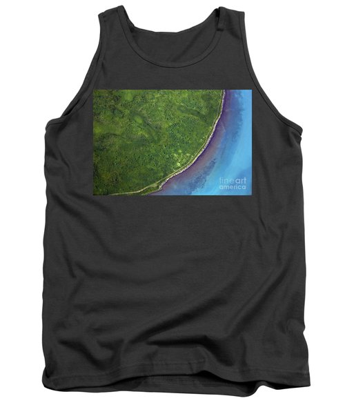 Iceland Aerial Photo Tank Top