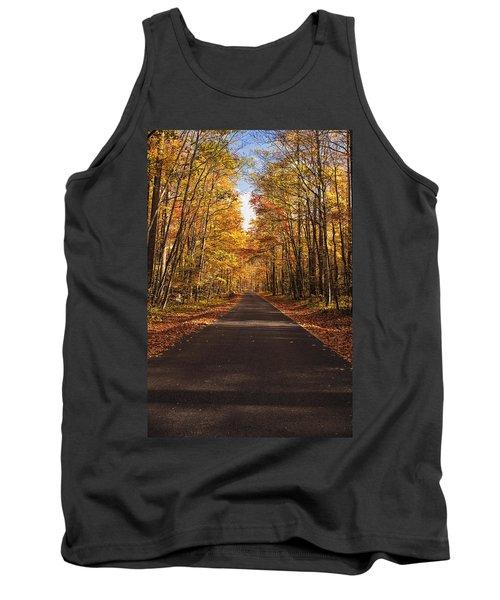 Autumn Drive Tank Top by Andrew Soundarajan