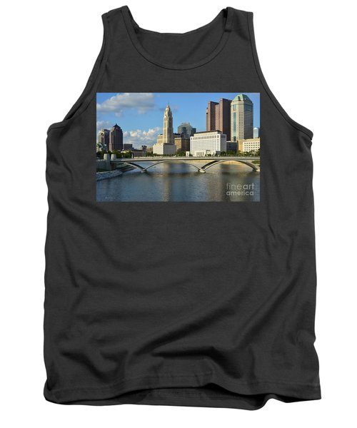 Columbus Ohio Skyline Photo Tank Top