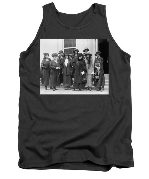 Tank Top featuring the photograph League Of Women Voters by Granger