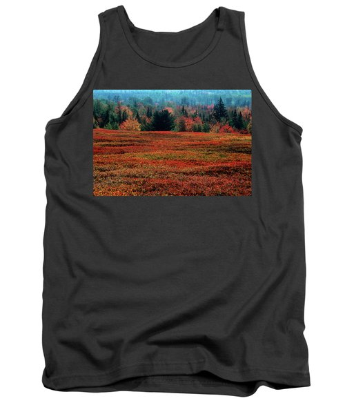 New England Fall Colors Tank Top