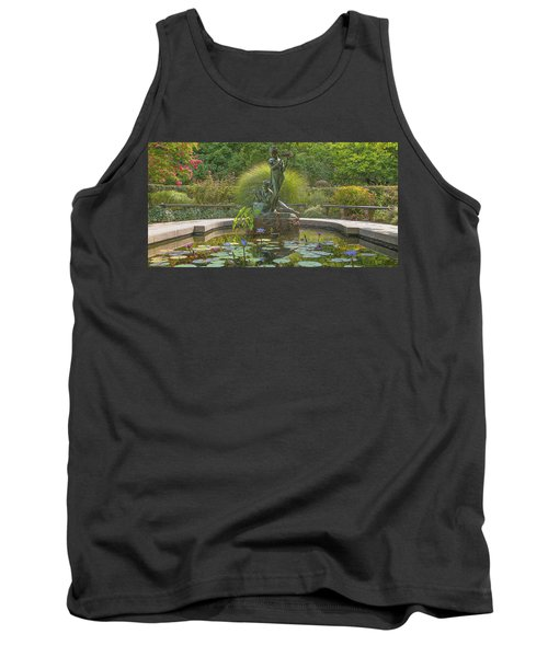Tank Top featuring the photograph Park Beauty by Theodore Jones