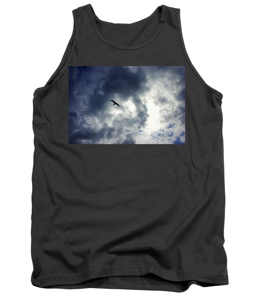 Tank Top featuring the photograph Storm Flyer by Marilyn Wilson