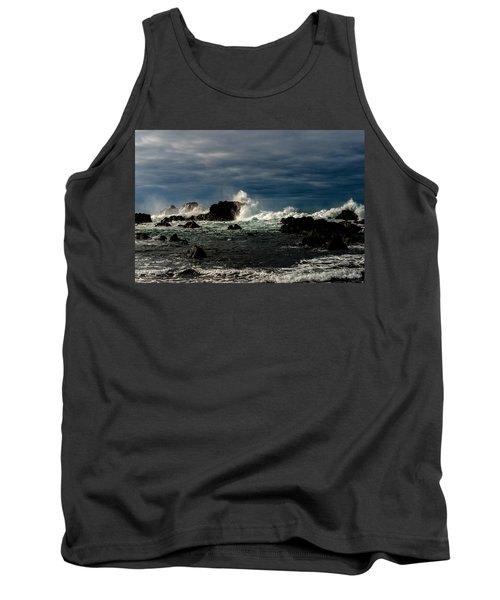 Stormy Seas And Skies  Tank Top
